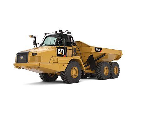 725C2 - Three Axle Articulated Trucks