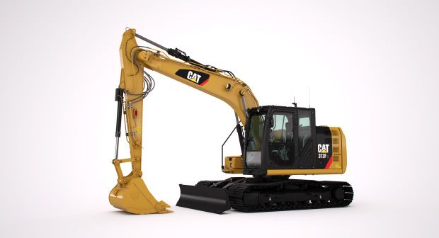 313F Hydraulic Excavator marketing ready geometry
