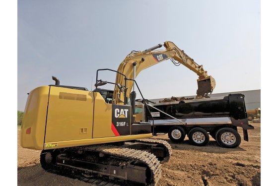 316F L Hydraulic Excavator, Small Excavators - Gough Cat