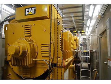 Cat engine or generator set