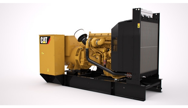 C13 NACD Diesel Generator Set Right Front