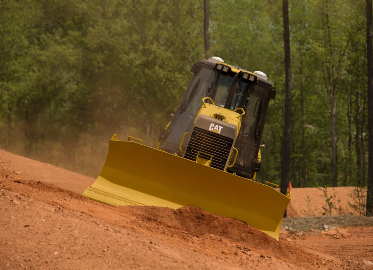Cat GRADE with 3D for Dozers