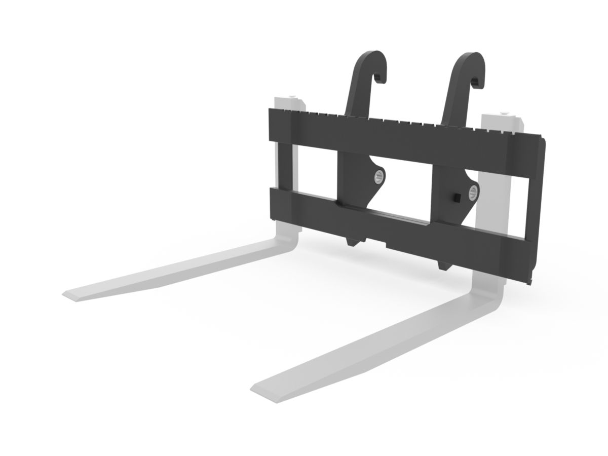 1550 mm (61 in) Pallet Fork Carriage