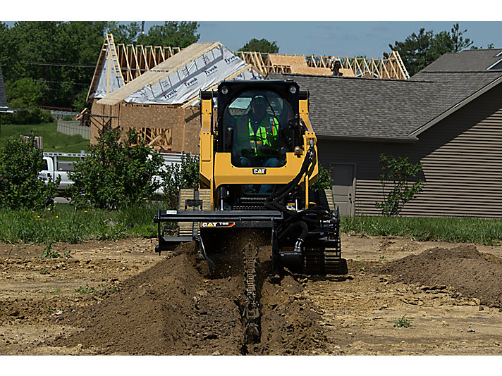 Cat | T15B High Flow Trencher with combo teeth | Caterpillar