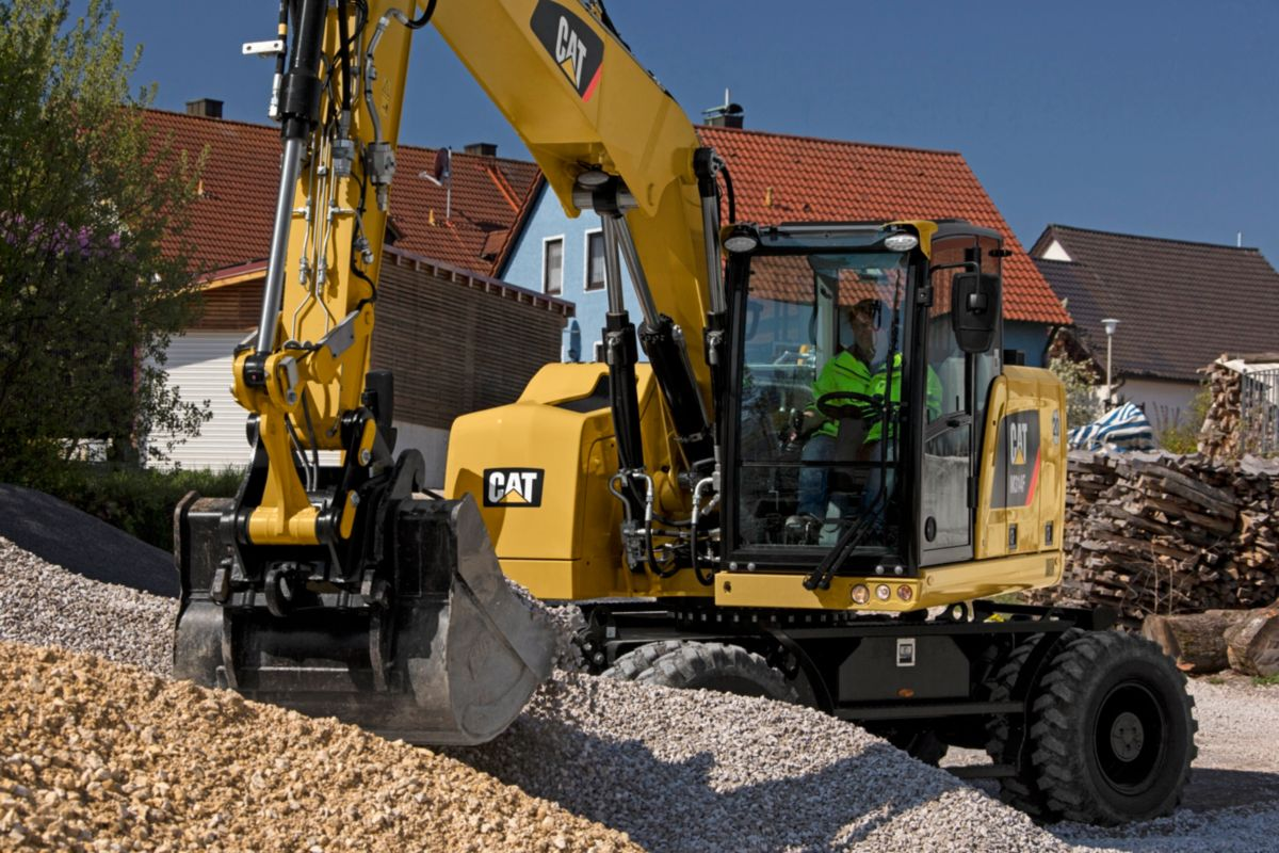 M314F Wheeled Excavator>