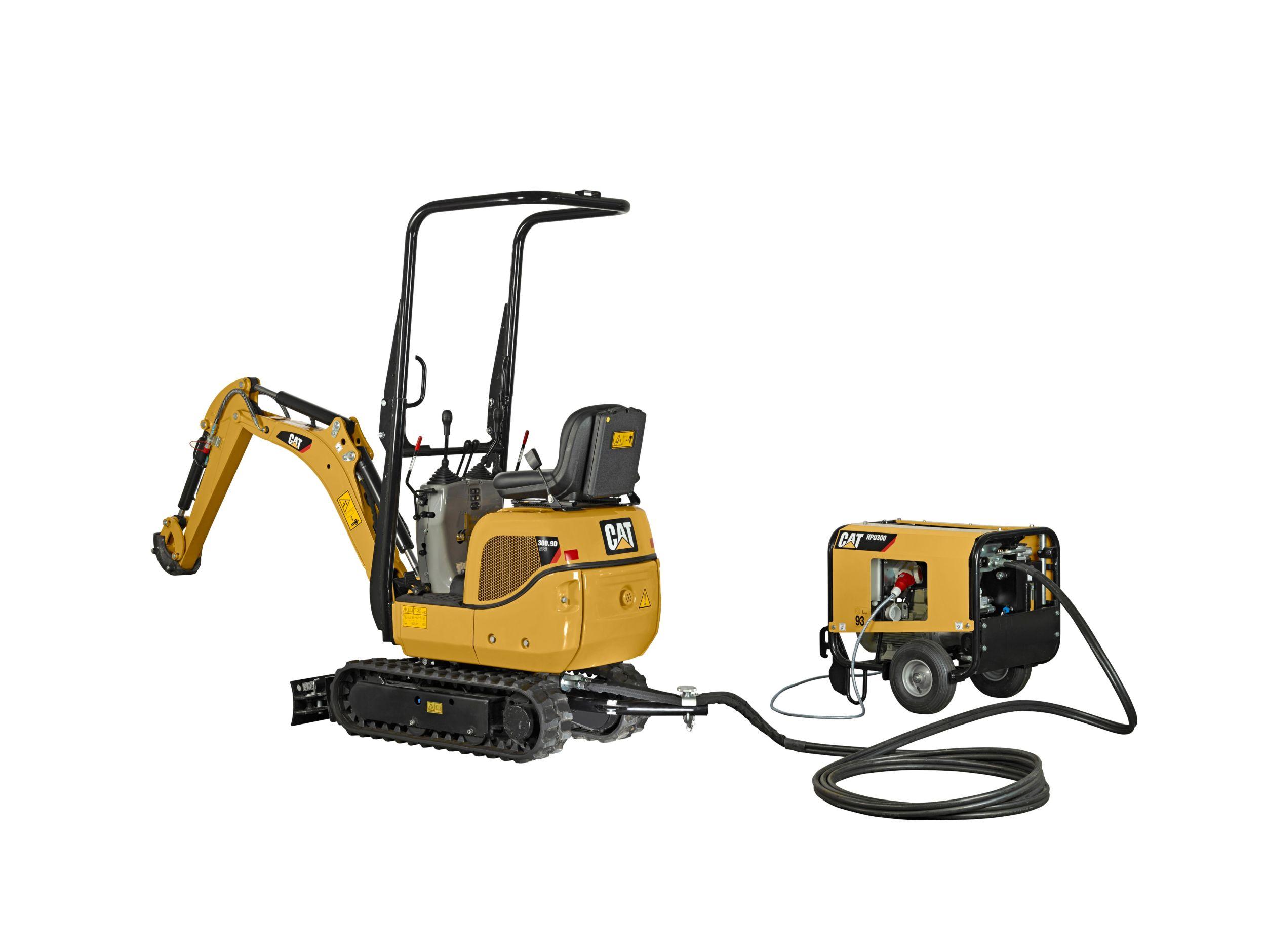 300.9D VPS & HPU300 Mini Hydraulic Excavator