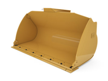 Foto del 2.9 m3 (3.8 yd3) Pin On General Purpose Bucket - Performance Series with bolt-on cutting edge