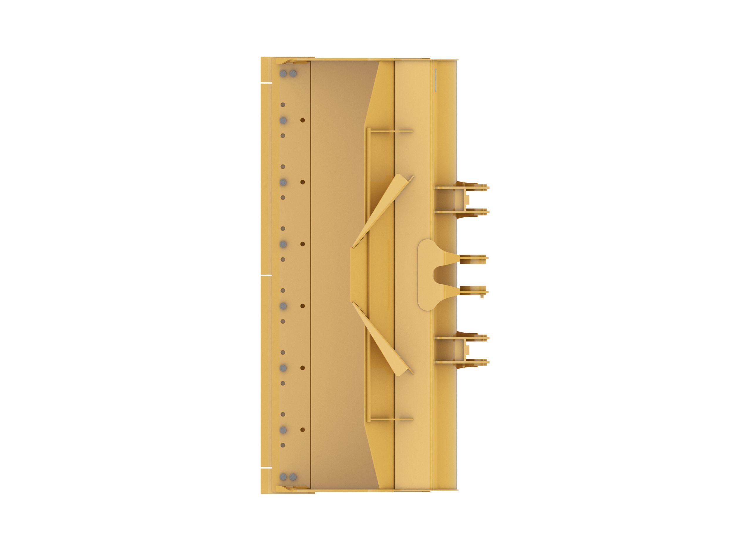 Gallery 2.7 m3 (3.5 yd3), Pin On, Bolt-On Cutting Edge