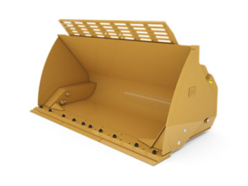 Foto del 4.1 m3 (5.4 yd3) Pin On High Dump Bucket with bolt-on cutting edge