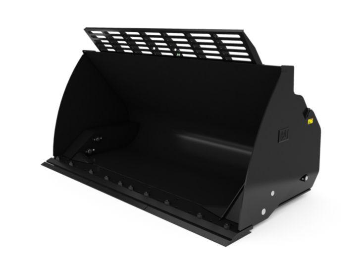 Buckets - Loader - 4.1 m3 (5.4 yd3), Fusion™, Bolt-On Cutting Edge