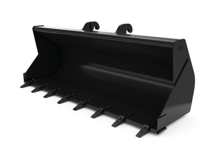 Buckets - Backhoe Front - 1.0 m3 (1.31 yd3), IT Coupler, Bolt-On Teeth