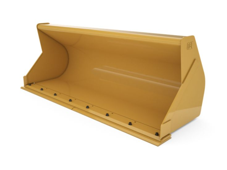 Buckets - Backhoe Front - 1.0 m3 (1.3 yd3), Pin On, Bolt-On Cutting Edge