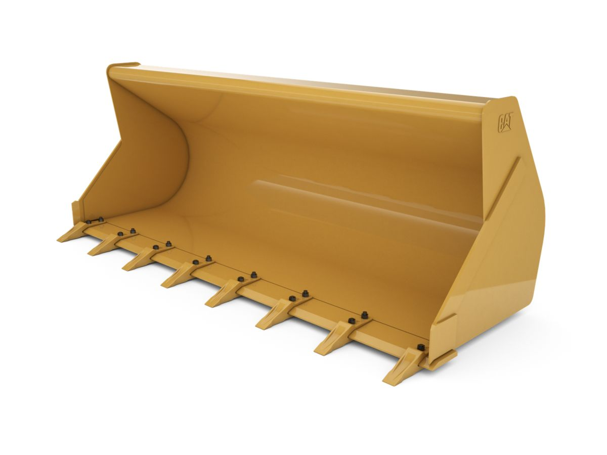 1.0 m3 (1.3 yd3) Pin On General Purpose Bucket With Bolt-On Teeth