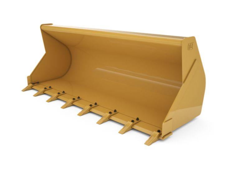 Buckets - Backhoe Front - 1.0 m3 (1.3 yd3), Pin On, Bolt-On Teeth