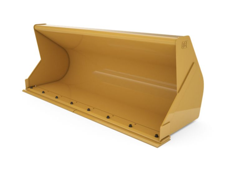 Buckets - Backhoe Front - 1.1 m3 (1.4 yd3), Pin On, Bolt-On Cutting Edge