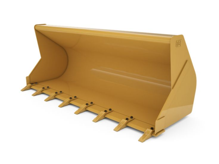 Buckets - Backhoe Front - 1.1 m3 (1.4 yd3), Pin On, Bolt-On Teeth