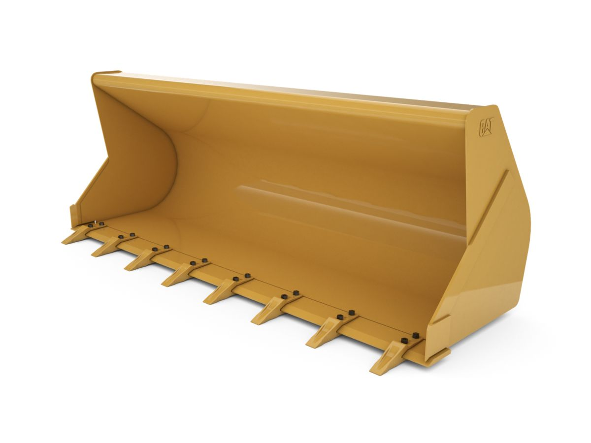 1.15 m3 (1.5 yd3) Pin On General Purpose Bucket with bolt-on teeth