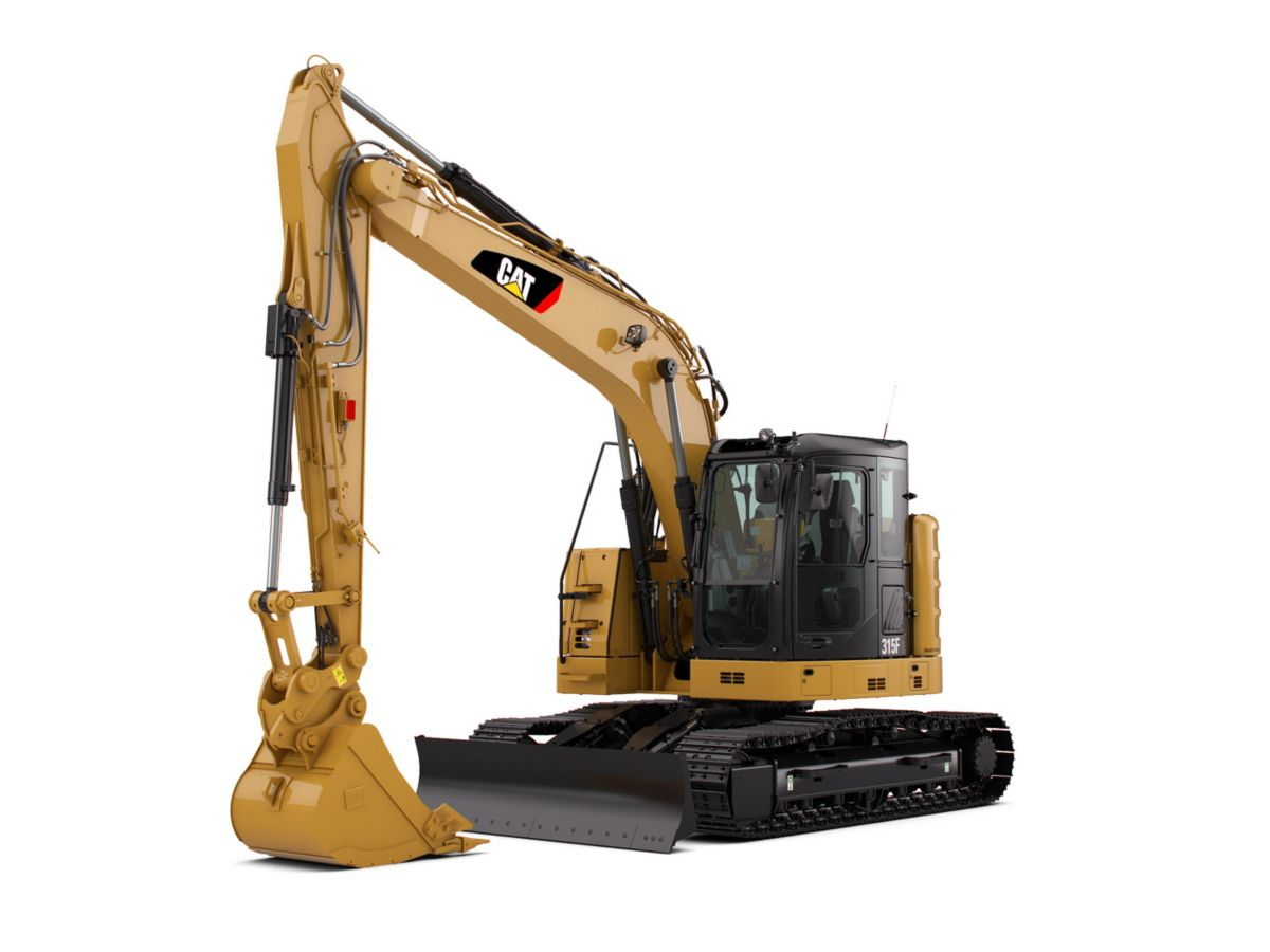315F L Hydraulic Excavator marketing ready geometry