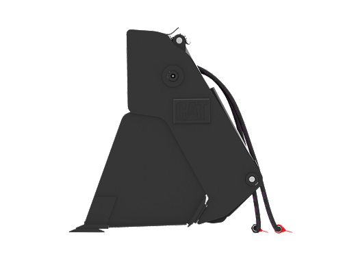 0.8 m3 (1.0 yd3), Skid Steer Coupler, Bolt-On Cutting Edge - Multi-Purpose Buckets