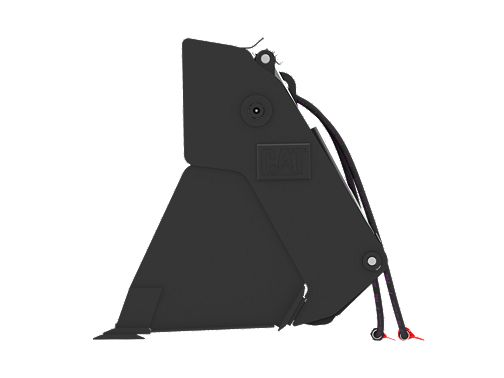 0.9 m3 (1.2 yd3), Skid Steer Coupler, Bolt-On Cutting Edge - Multi-Purpose Buckets