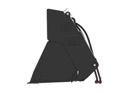 0.9 m3 (1.2 yd3), ISO Coupler, Bolt-On Cutting Edge - Multi-Purpose Buckets