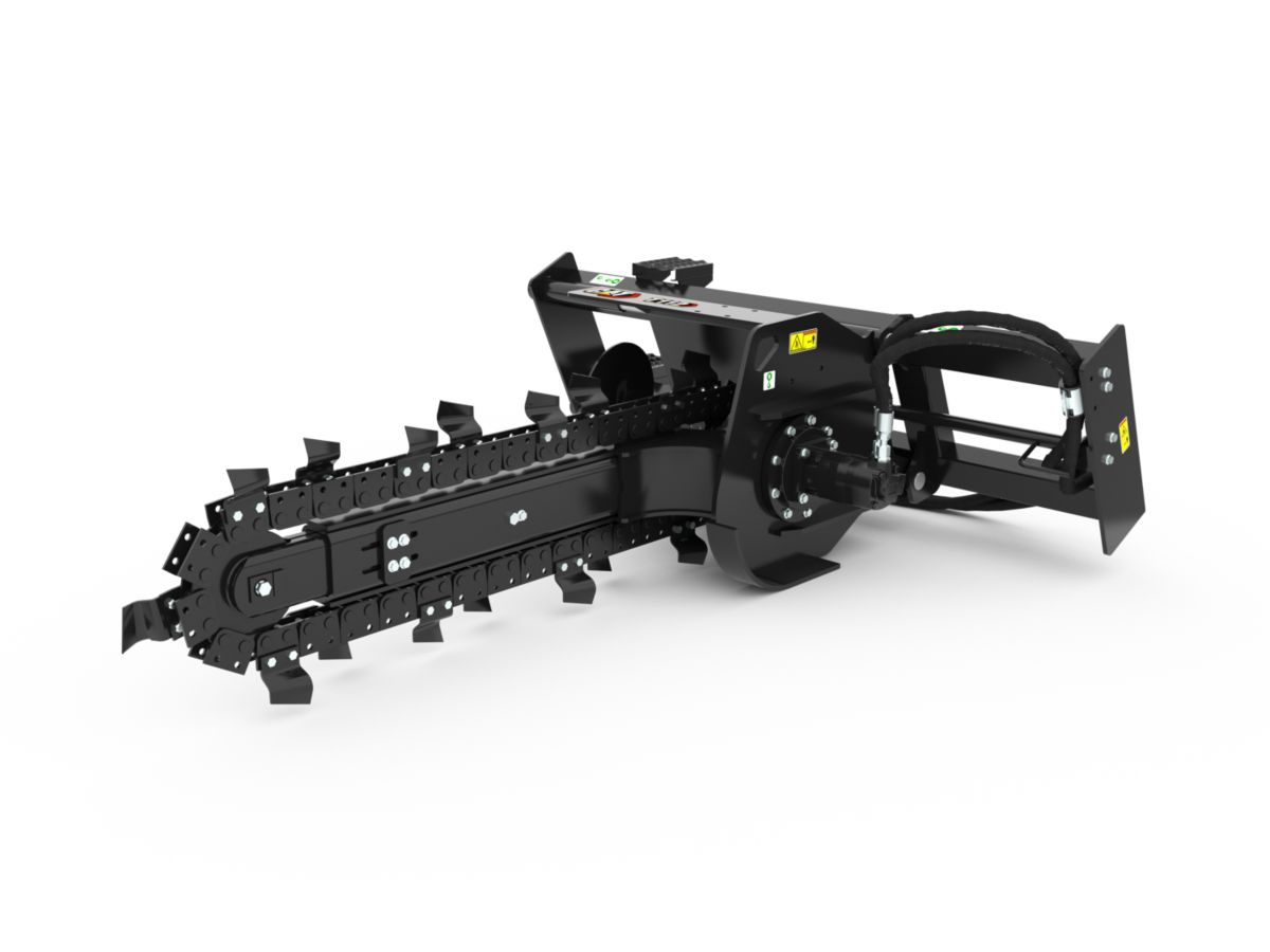 T112 Manual Trencher with standard teeth