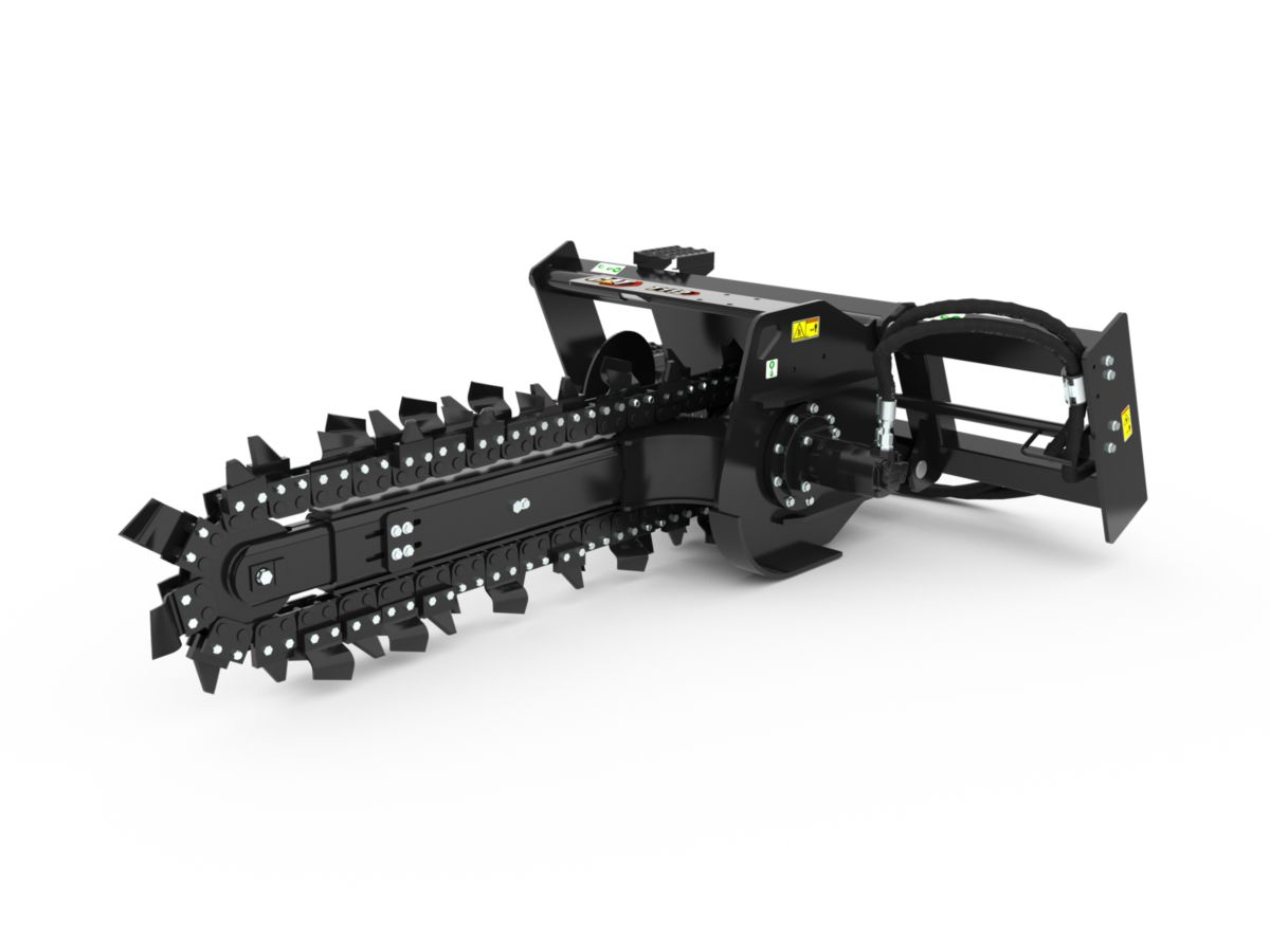 T112 Manual Trencher with combo teeth