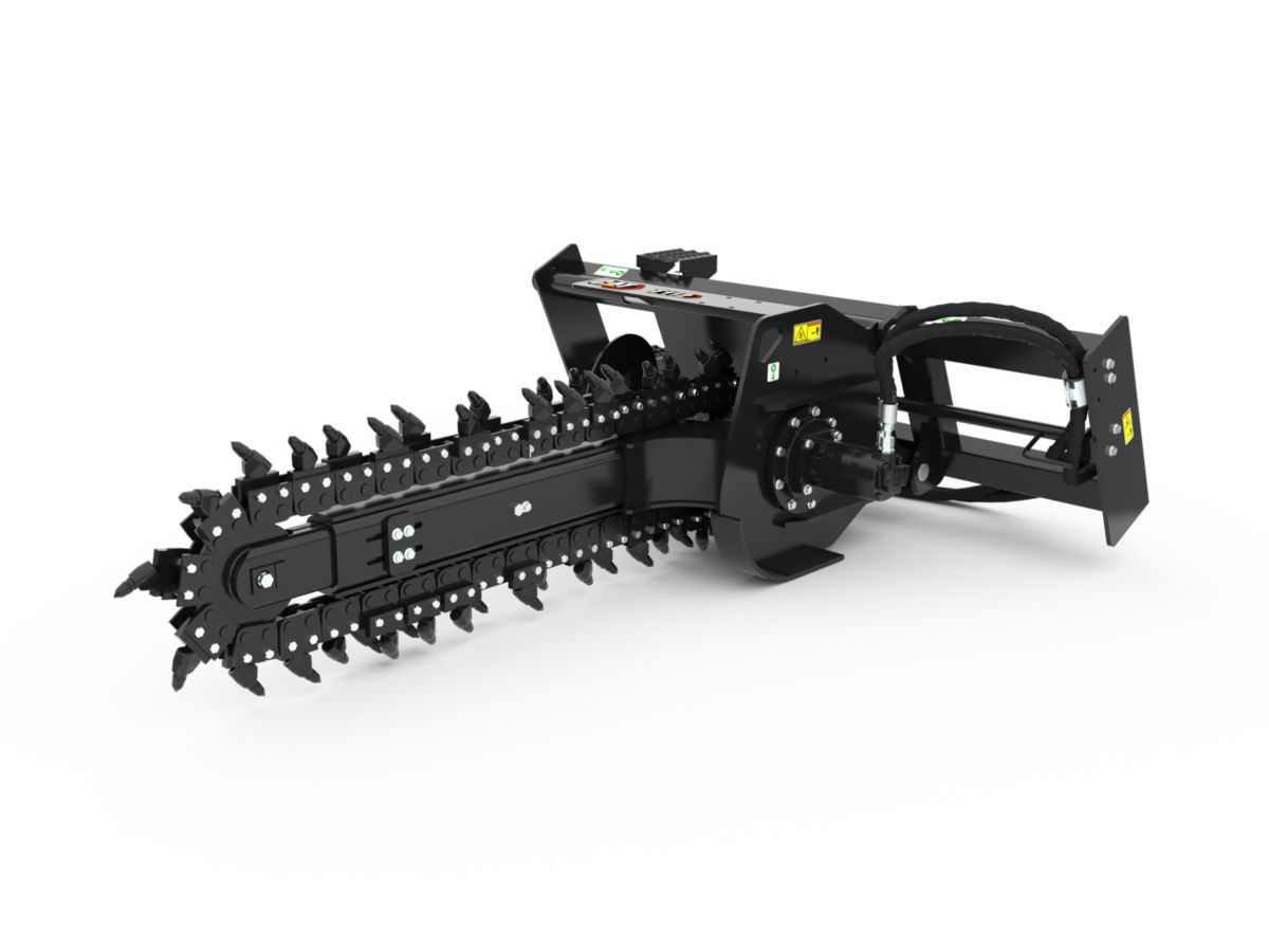 T9B Manual Trencher with rockfrost teeth