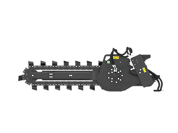 Cat | T9B Hydraulic Trencher with standard teeth | Caterpillar