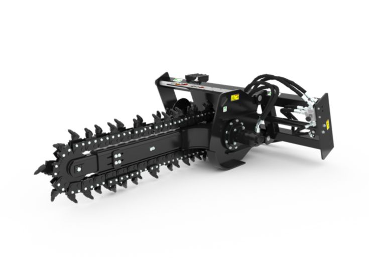 Trenchers - T112 Hydraulic Side Shift