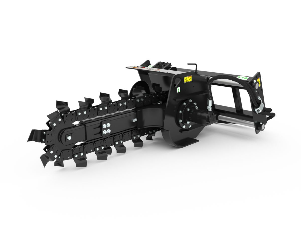 T109 Manual Trencher with standard teeth