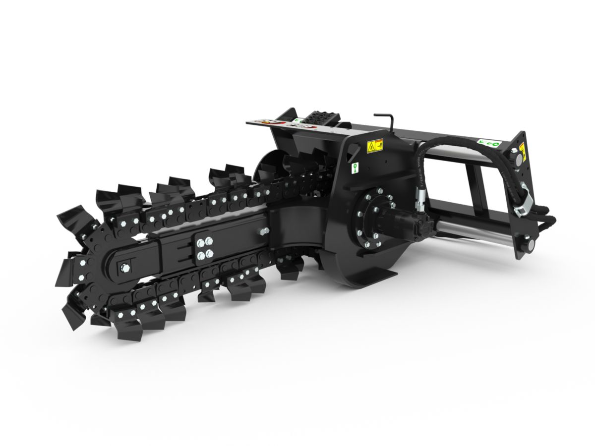 T6B Manual Trencher with standard teeth