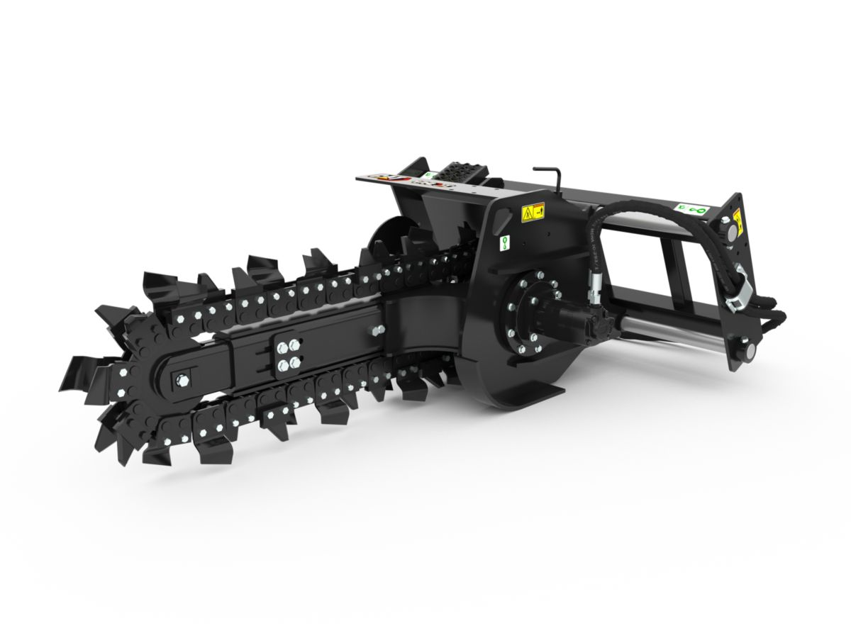 T6B Manual Trencher with combo teeth