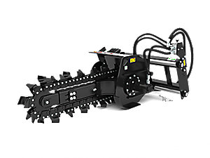 T6B Hydraulic Trencher with combo teeth
