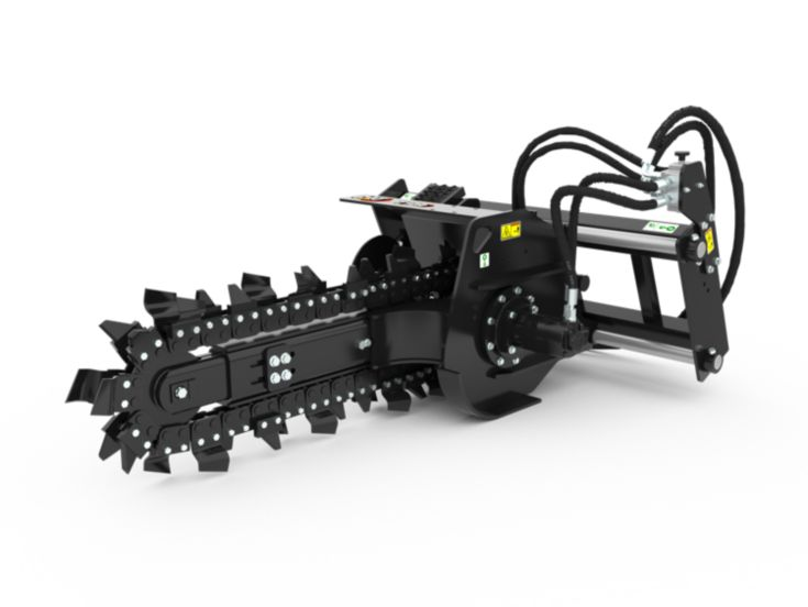 Trenchers - T109 Hydraulic Side Shift