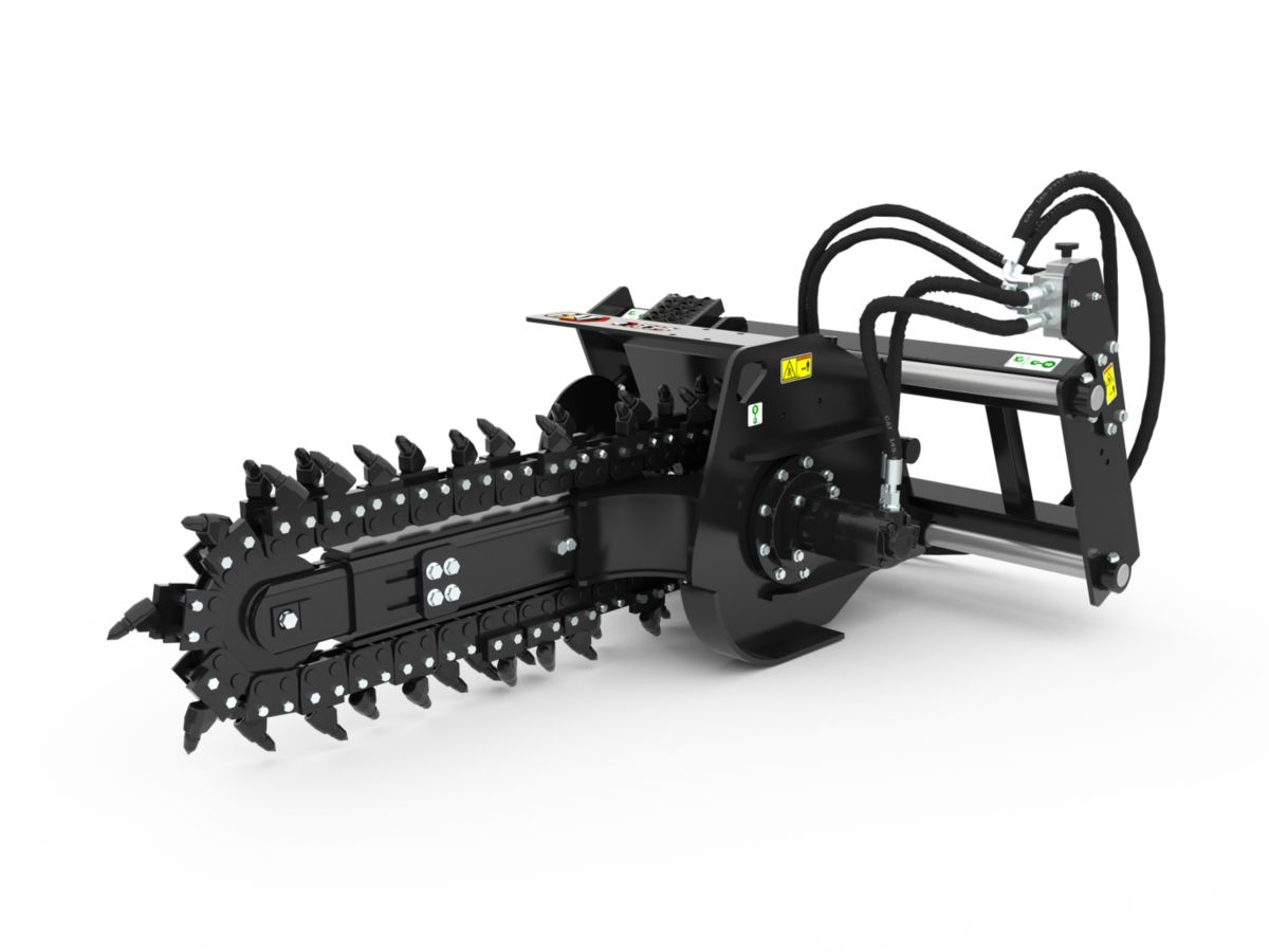 T6B Hydraulic Trencher with rockfrost teeth