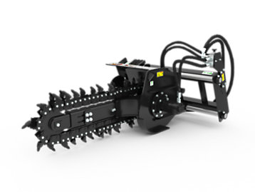 Foto del T109 Hydraulic Trencher with rockfrost teeth
