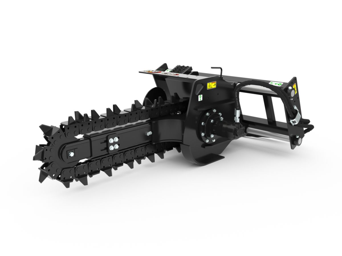 T6B Manual Trencher with terminator teeth