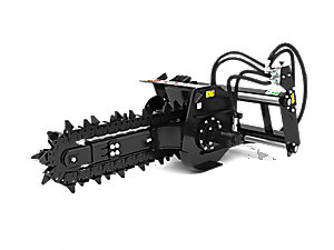 T6B Hydraulic Trencher with terminator teeth