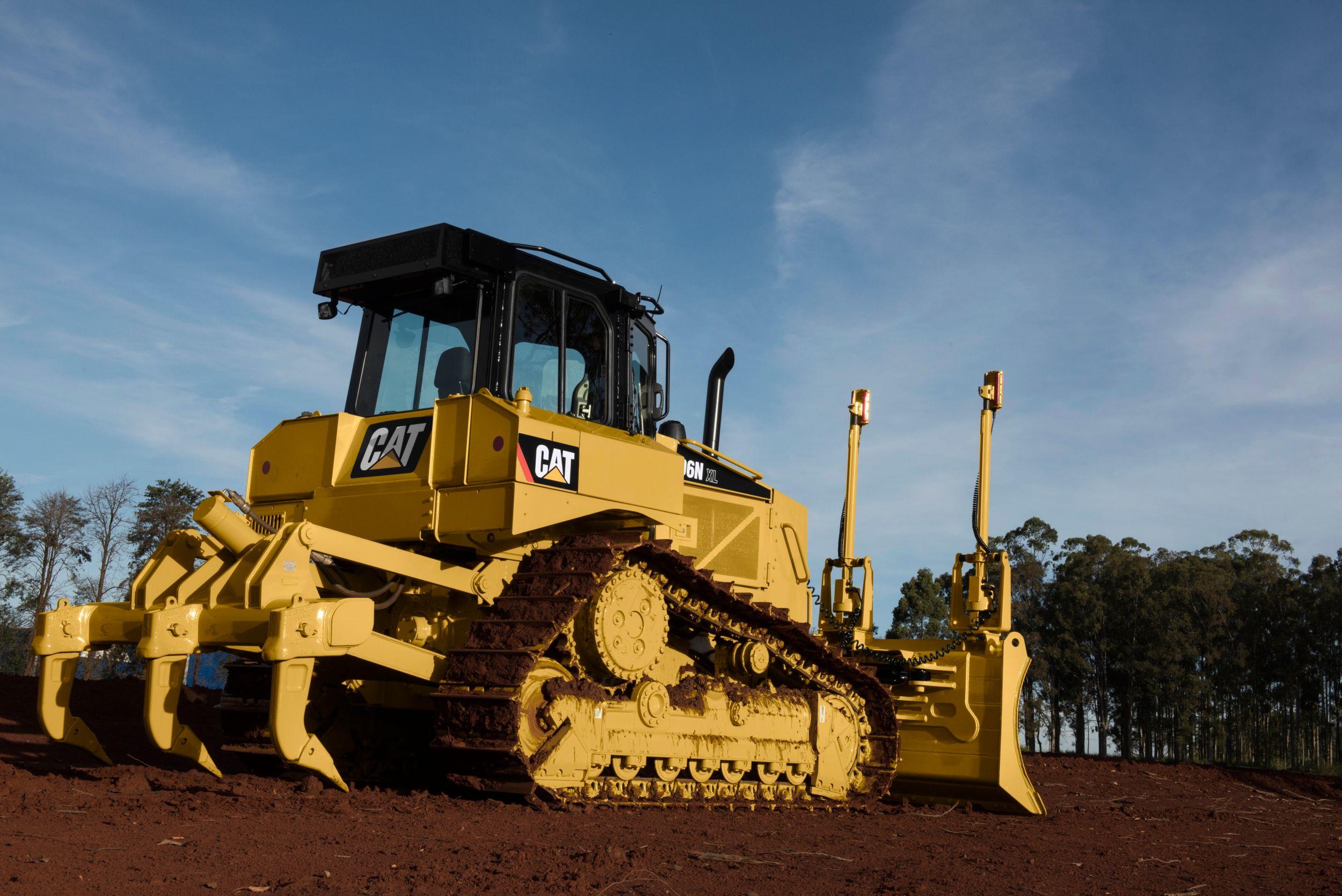 Tractor Topador D6N