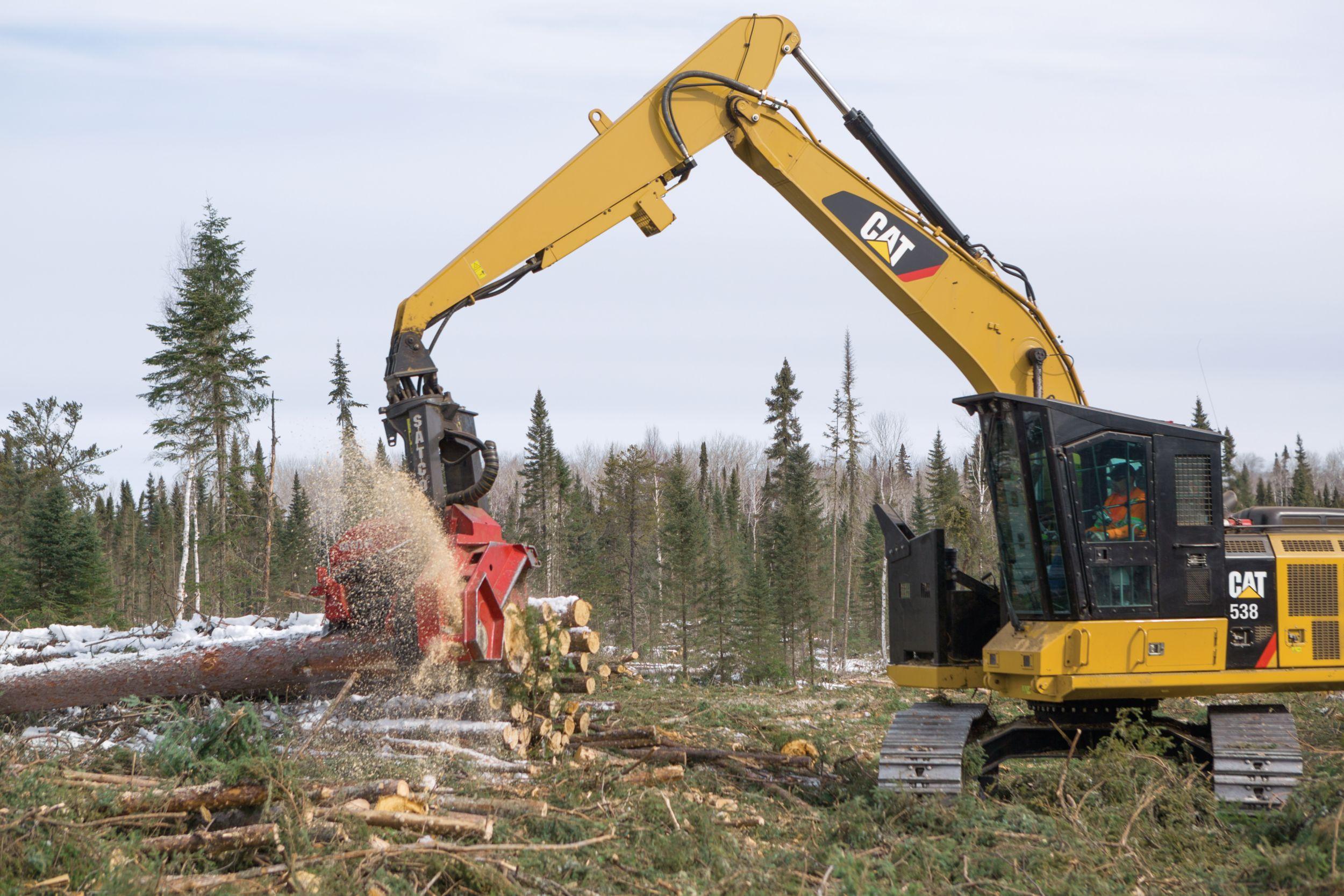 Máquina Forestal 538