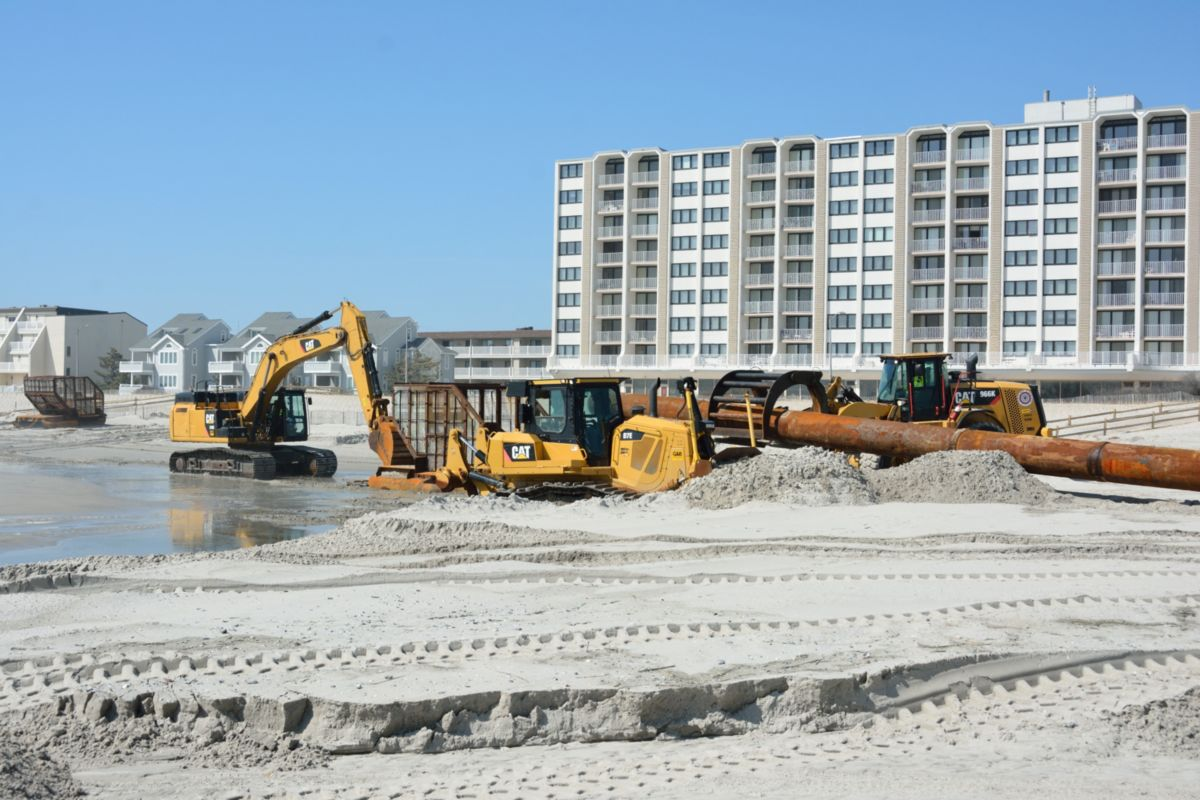 Cat | Cat Products Work to Restore New Jersey Shoreline