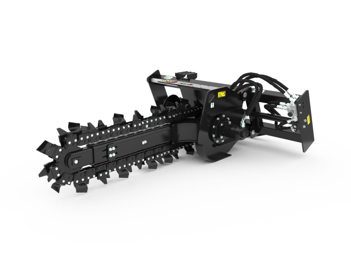 T9B Hydraulic Trencher with combo teeth