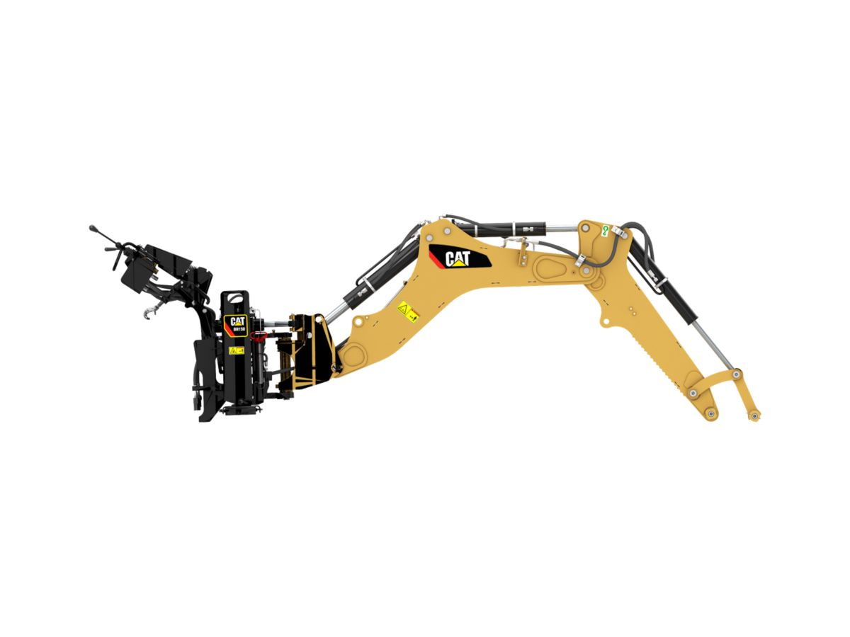 BH150 backhoes
