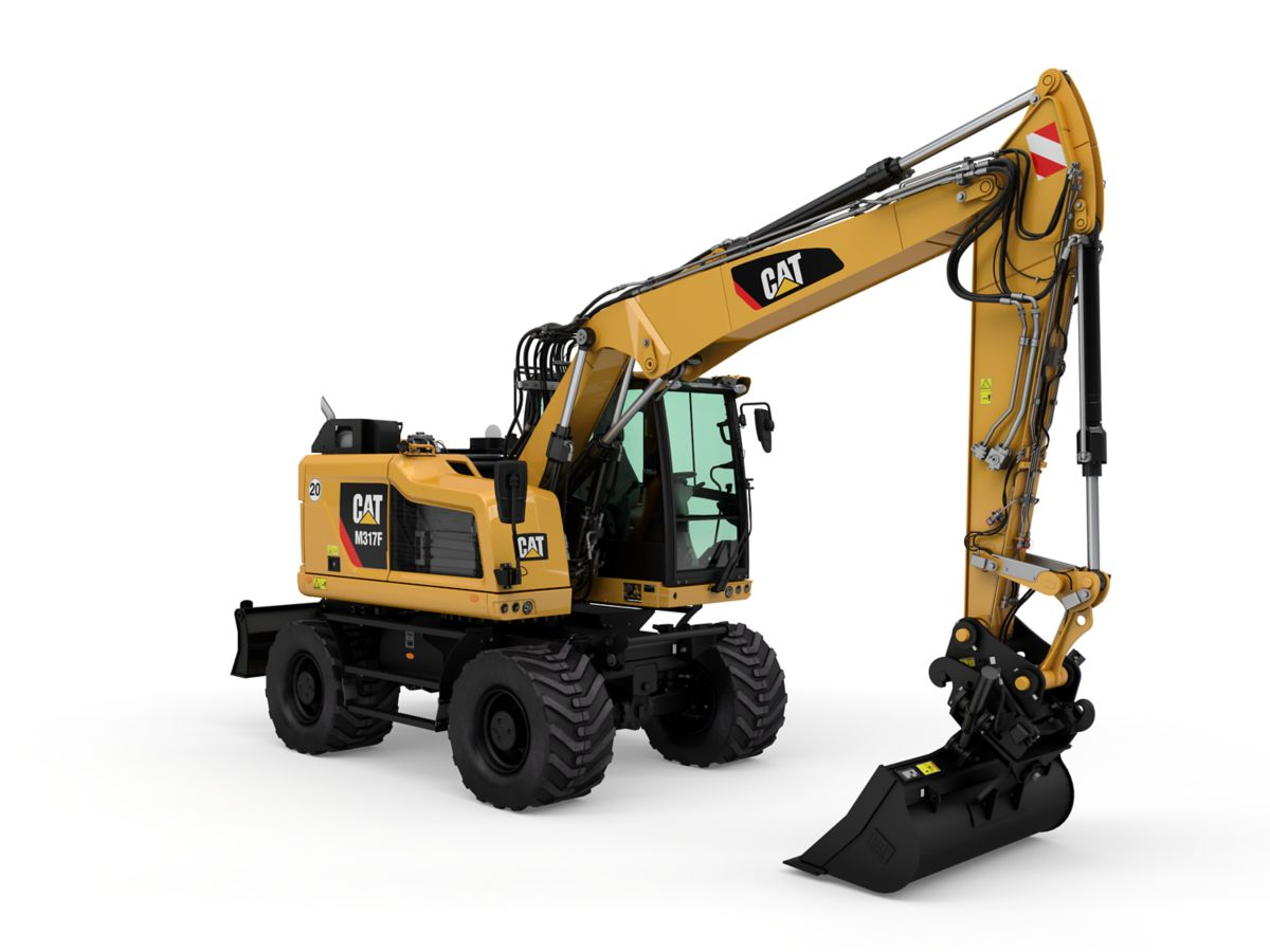 New | M317F Wheeled Excavator | Equipment ID: 1000026906 | Hawthorne Cat