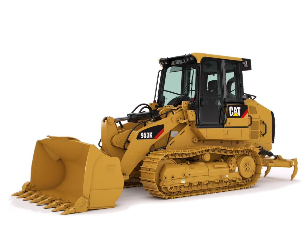 New Caterpillar Track Loaders