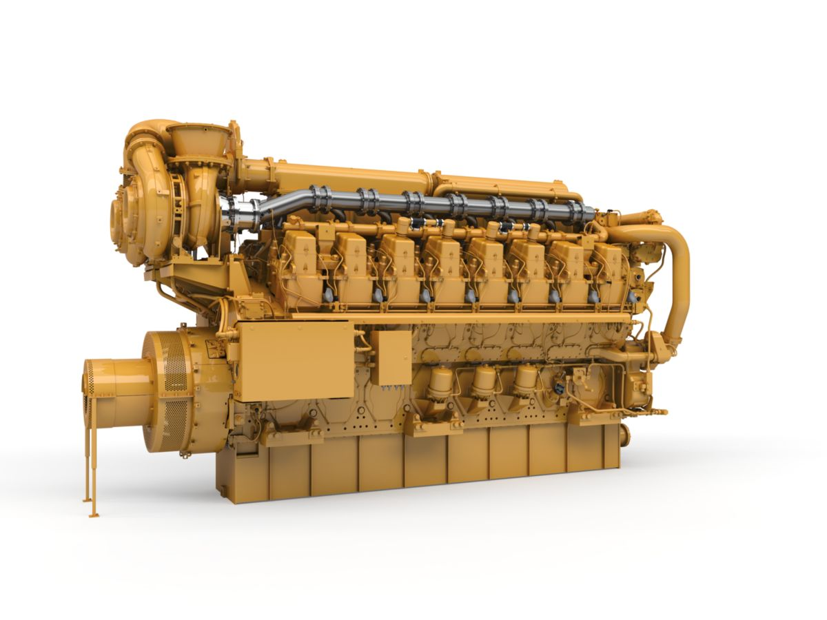 Cat C280-16 Marine Generator Set