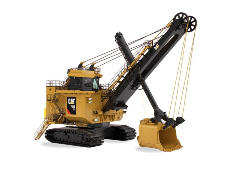 Motor Graders - 7495 HF with HydraCrowd