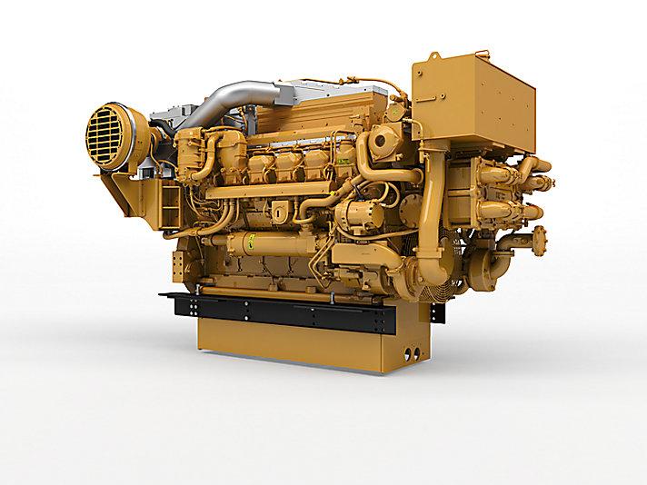 3512E Marine Auxiliary/DEP Engine (U.S. EPA Tier 4 Final / IMO III)