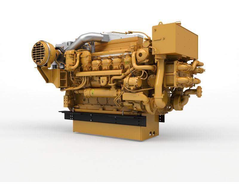 3512E Marine Propulsion Engine (U.S. EPA Tier 4 Final / IMO III)